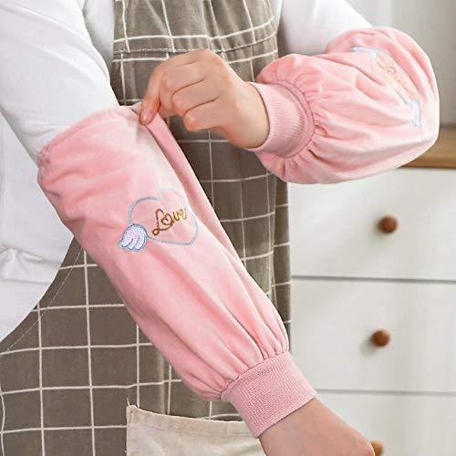 Coner Mode Manchet Dames Schattig Herfst En Winter Cool Studenten Oversleeve Keuken Antifouling Volwassen werk Lange mouwen, Mickey Blue
