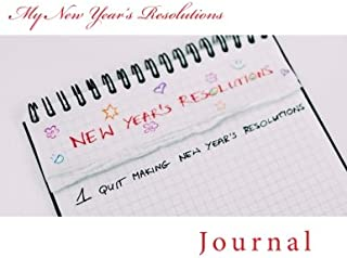 My New Year's Resolutions: Journal