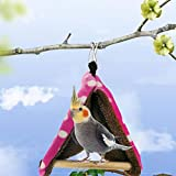 <span class='highlight'><span class='highlight'>Hearthrousy</span></span> Small Parrot Birdhouse Hammock Swing Warm Cotton Nest Mini Tent Warm Cotton Nest Toy