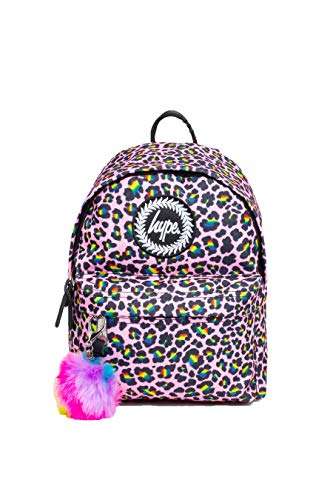 Hype Rainbow Leopard Mini Backpack