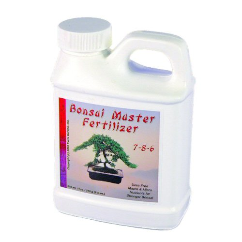 Eve's Garden Exclusive Bonsai Master Fertilizer, Exclusive Formula, Safe and Highly Effective Food for Bonsai Trees