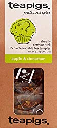 Award winning apple and cinnamon loose tea made using whole fruit pieces Sweet juicy apple blended with cinamon spice, a bit of a treat. Loose leaf tea quality with the convenience of a biodegradable bag Our packaging is certified plastic-free by A P...