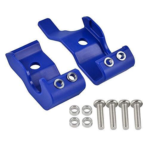 MAID Schutzabdeckung für Gabelbeine, passend für KTM EXC SXF XCW XCFW EXCF XC SX XCF 125 250 350 450 525 530 300 150 2003–2014 2013 2012, hochwertige Präzision (Farbe: Blau).