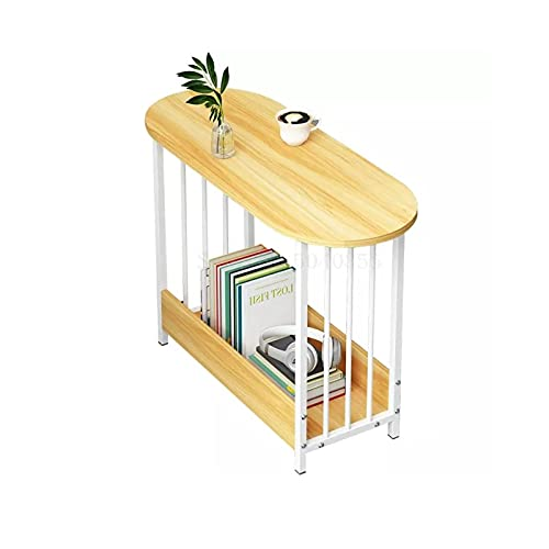 XLEVE Mesa de café Simple extraíble Creativo Side Apartamento pequeño Sofá Mesa Lateral Home Living pequeño Simple Tabla