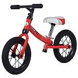 HOMCOM Bicicleta sin Pedales Sillín Regulable 31-45cm Recomendado para niños + 2 Años Rueda de...