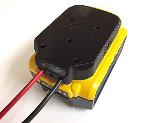 Battery Adapter for DeWALT 20V Max 18v Dock Power Connector 12 Gauge Robotics