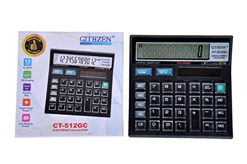 Electronic Steps Check and Correct Desktop Calculator AT05