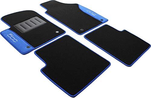 IL TAPPETO AUTO BY FABBRI 3 COLOR0000035B Tapis de Voiture antidérapants en Moquette Bleu