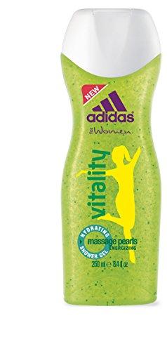 adidas Vitality Duschgel für Damen – Revitalisierendes Shower Gel – Geeignet für die tägliche Anwendung – pH-hautfreundlich – 6 x 150 ml