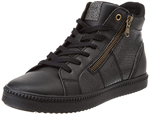 Geox Femme D Blomiee B Sneaker, Noir, 39 EU