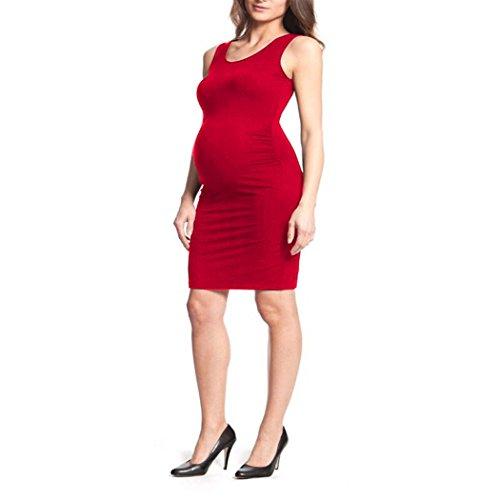 COSYOU New Casual Summer Dresses for Pregnant Women Vest Maternity Dress Elegant...