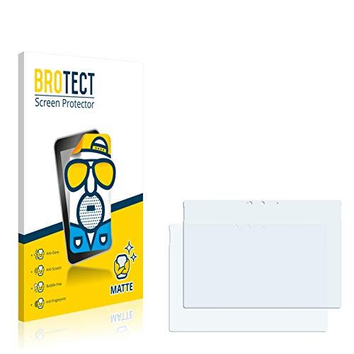 BROTECT Protector Pantalla Anti-Reflejos Compatible con Microsoft Surface Pro 7 Plus (2 Unidades) Pelicula Mate Anti-Huellas