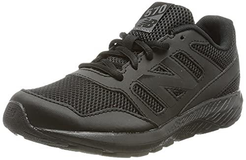 New Balance 570v2, Zapatillas para Correr de Carretera, Black, 34.5 EU
