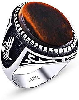 خاتم فضة 925من عتيق للرجال ، atiq018-01-9