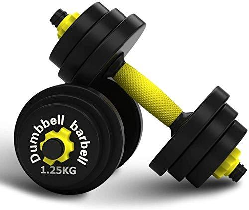 TGFVGHB Juego de pesas ajustables de 20 kg para gimnasio, casa, culturismo, entrenamiento
