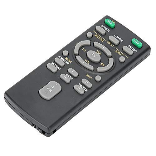 DAUERHAFT Controlador de Barra de Sonido Duradero de Repuesto Universal, Controlador inalámbrico de Repuesto portátil, para Sony Bar, para RM-ANU159