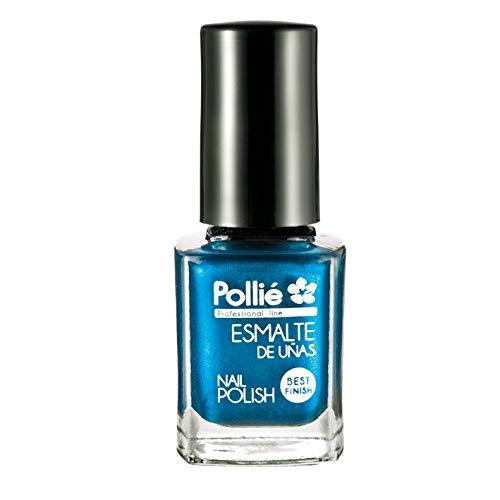 Pollíe, Esmalte De Uñas Color Azul Metalizado 12 ml