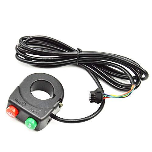 AKDSteel Interruptor de Giro de bocina de luz Interruptor de Campana de...