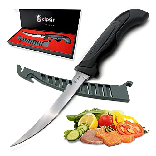 Meat and fish Fillet Knife for Redfish