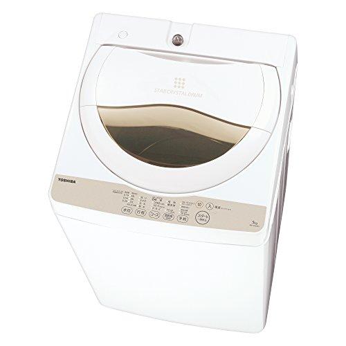 東芝全自動洗濯機 AW-5G3(W) グランホワイト AW-5G3(W)
