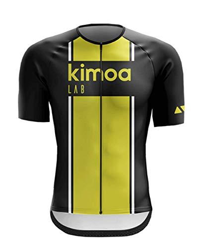 Kimoa - Maillot Ciclismo, Adultos Unisex, Bicolor, Estandár