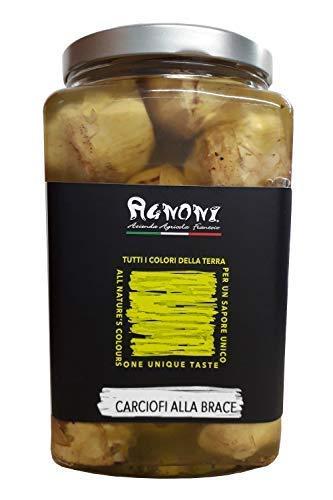 Sott'oli Agnoni - Carciofo Romanesco alla Brace Sott'olio - 1500g