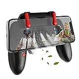 Oluote Mobile Game Controller con Ventola di Raffreddamento, Trigger Gamepad Shoot e Sensitive Aim Trigger, per 4.7-6.5 Pollici di Telefono