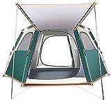 LAZ Tente extérieure entièrement Automatique Camping Anti-Épaississement Wild Storm Accueil Tente, Tente instantanée for la Famille Activités de Plein air et 2 Tailles