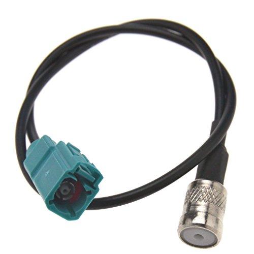 Audi Stereo Fakra Vrouwelijke naar ISO Vrouwelijke Antenne Adapter Kabel