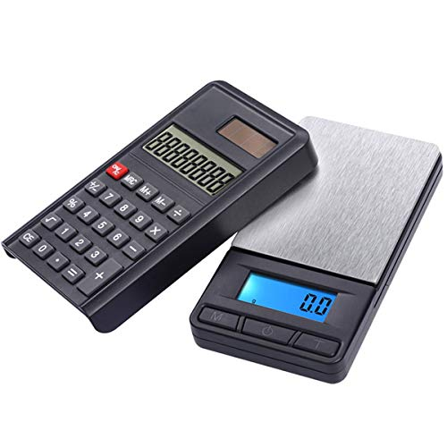 LYC Draagbare hoge precisie elektronische weegschaal sieraden karaatschaal elektronische balans zakweegschaal met rekenmachine eigenschappen
