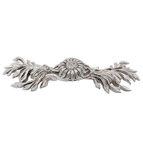 Vicenza Designs K1216 Carlotta Sonnenblumenkerne, 7,6 cm, poliertes Nickel