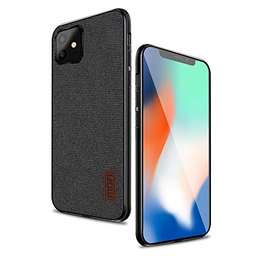 Mofi iPhone 11 Case, Thin Slim Hard Case with Smooth Surface only for Apple iPhone 11(6.1')-Black