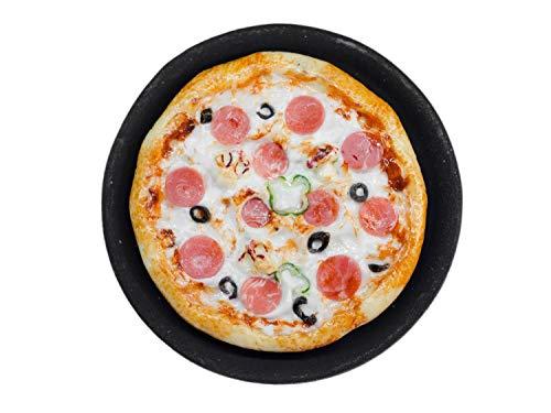 Miniblings Pizza auf Platte rund Brosche...