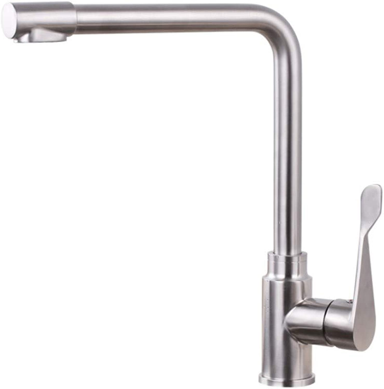Basin Taps Swivel Spout Faucet 304 Stainless Steel Faucet Kitchen Hot and Cold Pure Faucet Dual-Use Direct Drink Three-in-One