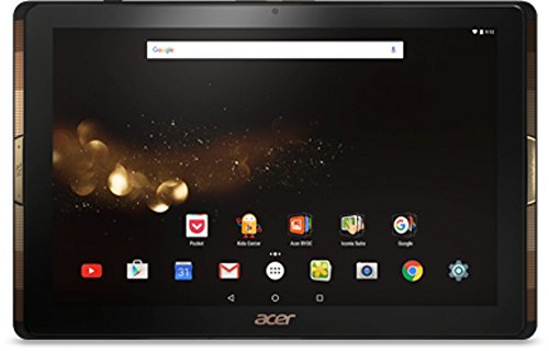Acer Iconia Tab 10 (A3-A40) 25,6 cm (10,1 Zoll Full HD) Tablet-PC (Quad-Core Cortex A53, 2GB RAM, 32GB eMMC, Android 6.0 Marshmallow) schwarz