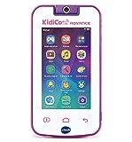 VTech 80-186657 Kidicom Advance Appareil Intelligent pour Enfants, écran Tactile 5' HD, Objectif Rotatif 180o pour Photos, Selfies et vidéos, contrôle Parental, Jeux Blanc/Rose