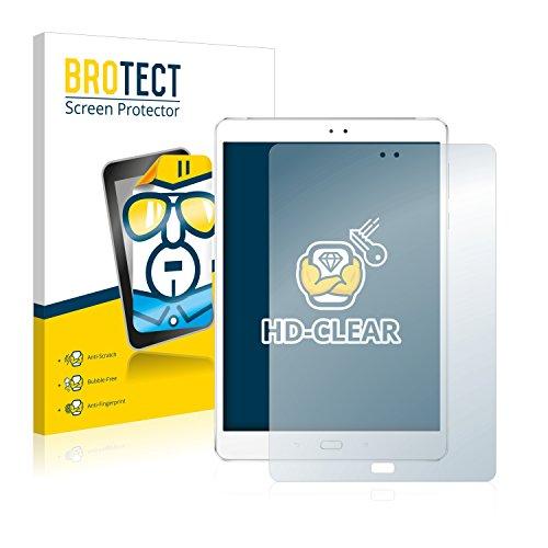 BROTECT Schutzfolie kompatibel mit Asus ZenPad 3S 10 Z500KL (2 Stück) klare Bildschirmschutz-Folie
