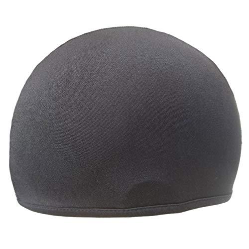 Lydiaei Spezial Unisex Dry Helm Cycling Cap Sports Hat Motorrad Bike Riding Bicycle(None Black)