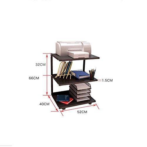 HQQ Print Rack Desktop Rack Office Copiadora Bay Audio