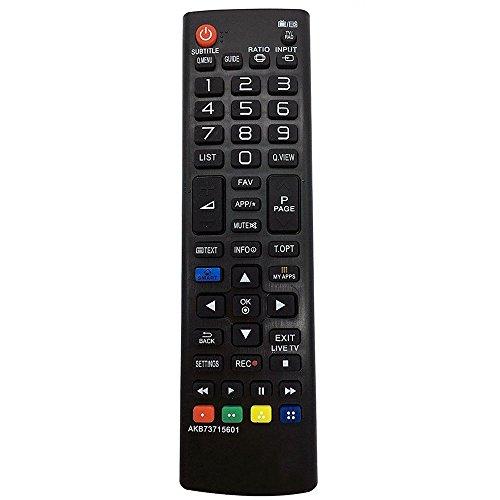 allimity AKB73715601 Ajuste a control remoto para LG TV 32LN570R 32LN575S 39LN575S 42LN570S 42LN575S 47LN575S 50LN575S 42LN613S 47LN613S 60LN575S 58UF8307 42LN578V 32LN578V 42LA8609