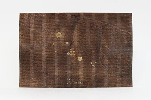 Tischmatte, Tischmatte aus Holz, Sternbild, Stier, Waage, Sternzeichen, Sternzeichen Geschenk, Krebs Sternzeichen, Sternzeichen, Wassermann, Löwe, Holz Tischsets
