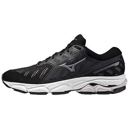 Mizuno Wave Ultima 12 (W), Zapatillas de Running Mujer, Black/Castlerock/Phantom, 39 EU