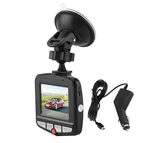 KIMISS Full HD 1080P 2.2inch Dash Cam, Cámara DVR para coche 170 ° Digital Driving Video Recorder A5