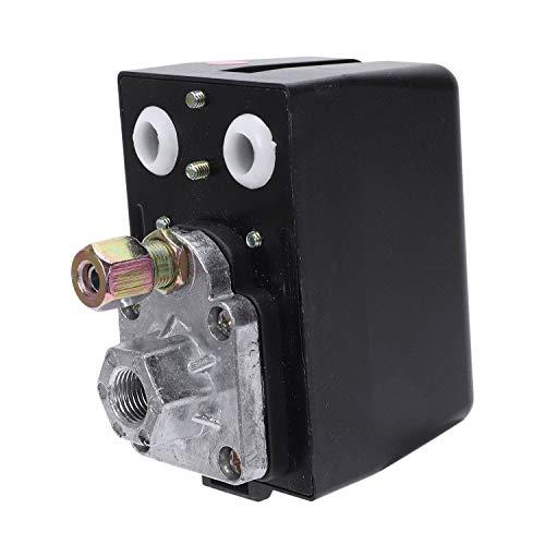 Iycorish 3-Phasig 230 V 400 V 16A Druck Schalter Für Druckschalter Kompressor 400V Luft Druckschalter Kompressor 400Ven Schalter Steuerung130-170 Psi Haus Werkzeuge