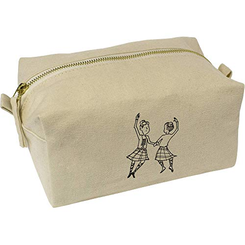 Azeeda 'Danseurs des Highlands' Trousse de Maquillage / Toilette (CS00007026)