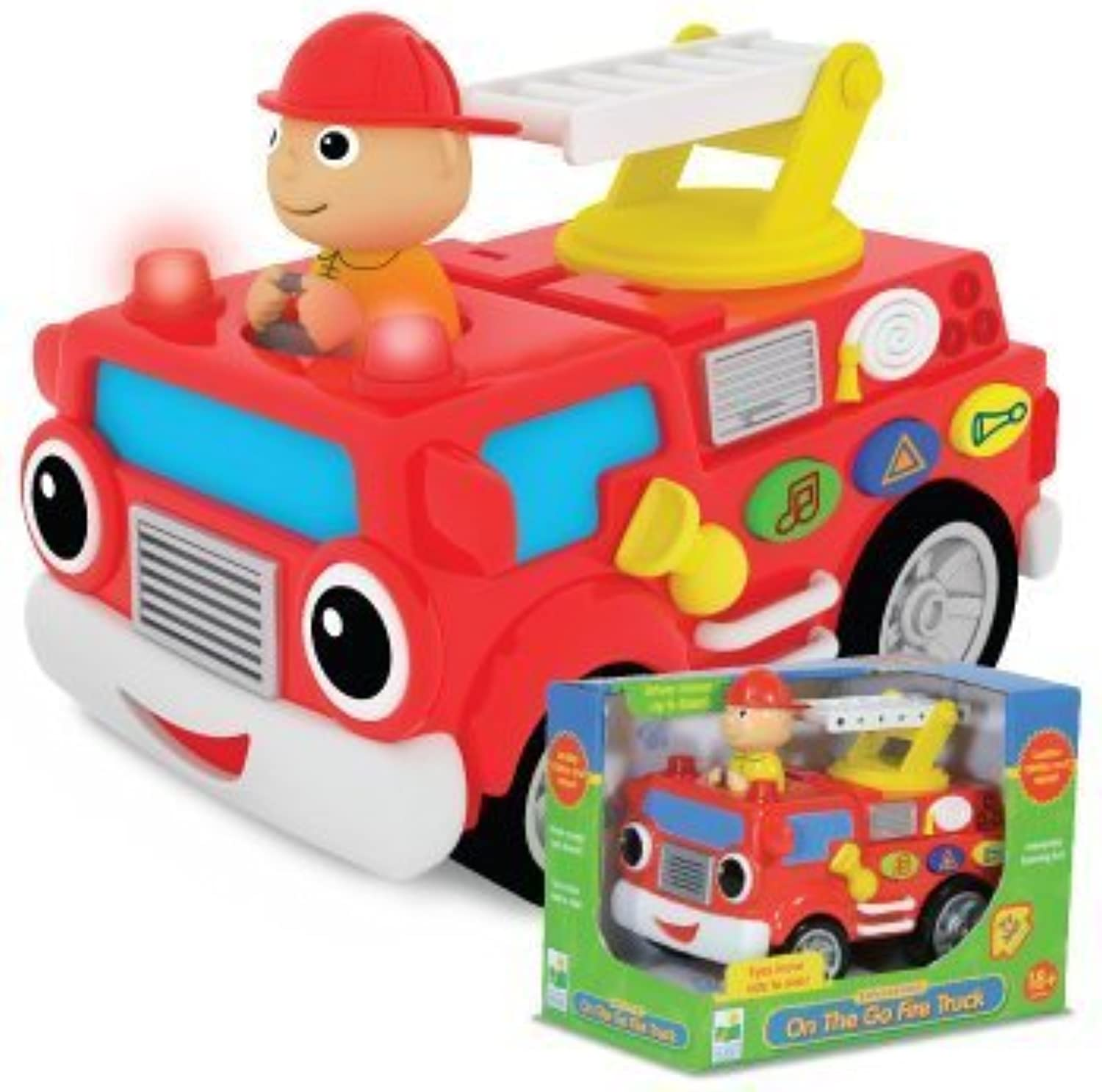 The Learning Journey On the Go Fire Truck by The Learning Journey International [Toy]