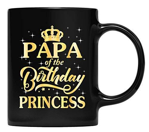 N\A Taza Vintage Corona papá del cumpleaños Princesa papá
