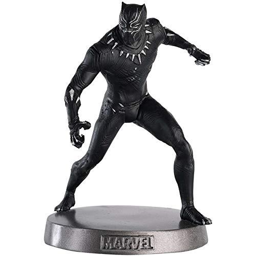 Hero Collector Coleção Pesados Marvel | Estatueta de Metal Pesado Pantera Negra 5 da Eaglemoss