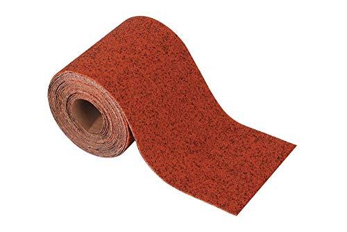 Wolfcraft 3176000 - Rollo papel de lija abrasivo, grano 240, 5 m x 93