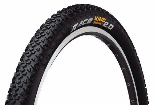 Continental Race King PROTection MTB Neumático para bicicleta con DuraSkin (26 x 2.0, plegable)